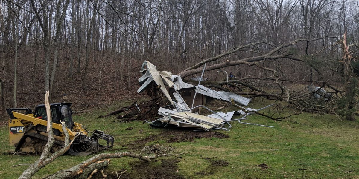 NWS: Preliminary report shows EF1 tornado hit Marquand, MO during Sunday's storms