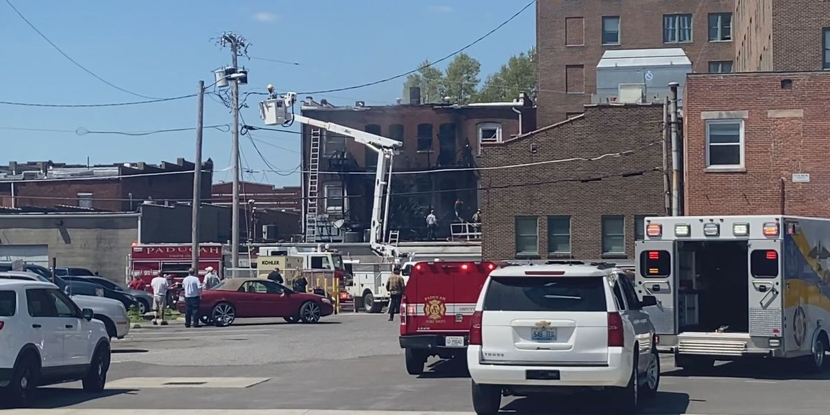 Fire Marshal to investigate fire at building in Paducah