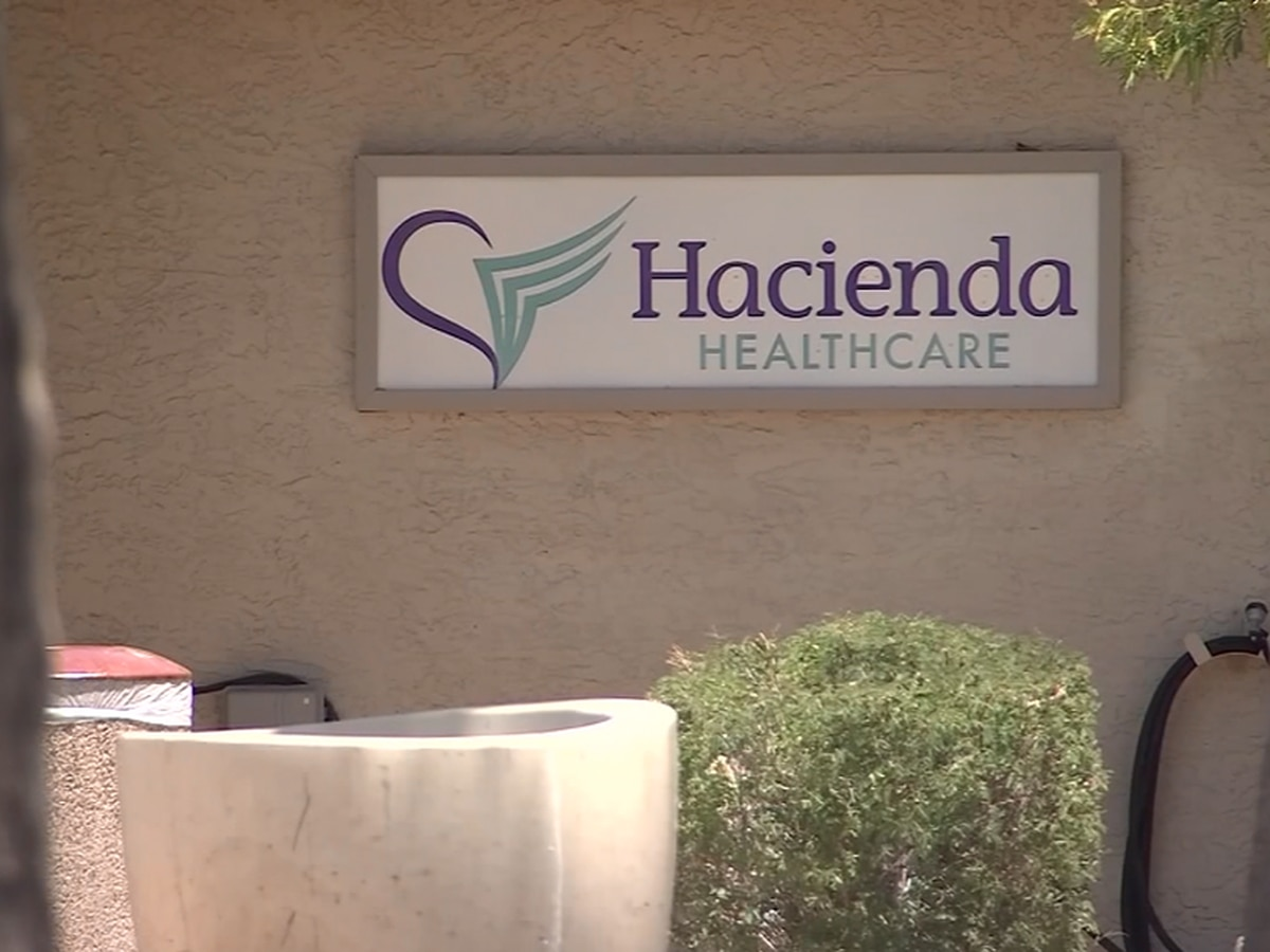 Maggots found on patient's neck at troubled Hacienda Healtchcare facility