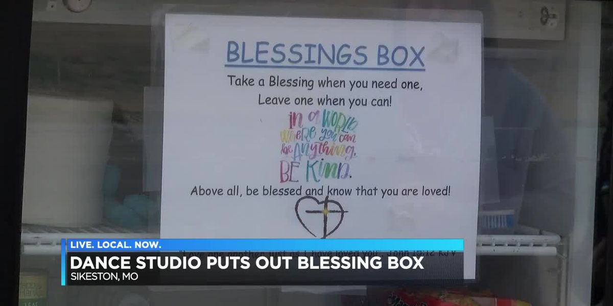 Sikeston, MO studio creates blessing box