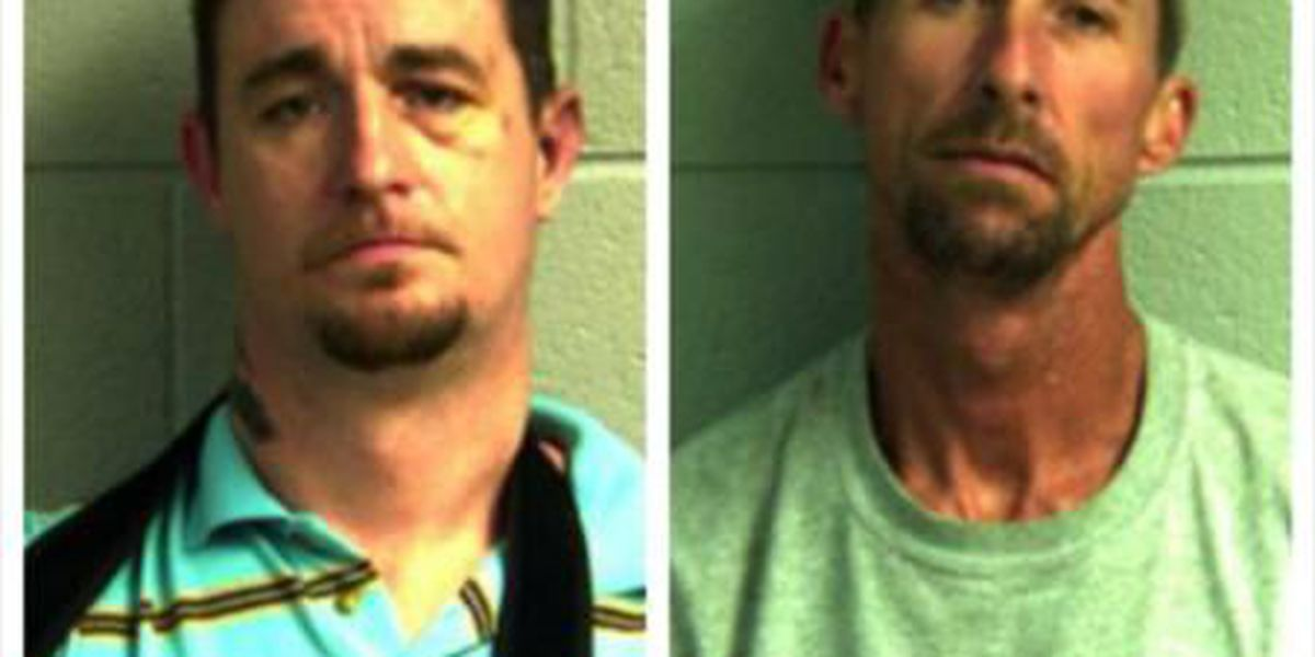 2 Graves Co  men are facing drug charges, traffic violations