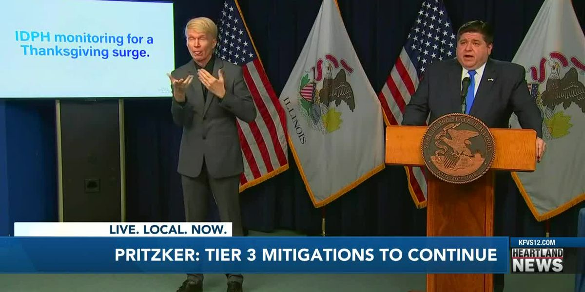 Gov. Pritzker: Tier 3 mitigations remain in place for now
