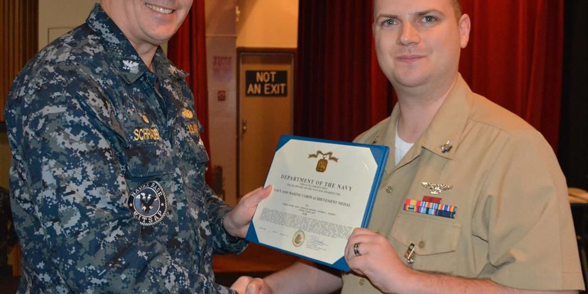 Cape Central Graduate Received Navy- Marine Corps Achievement Medal