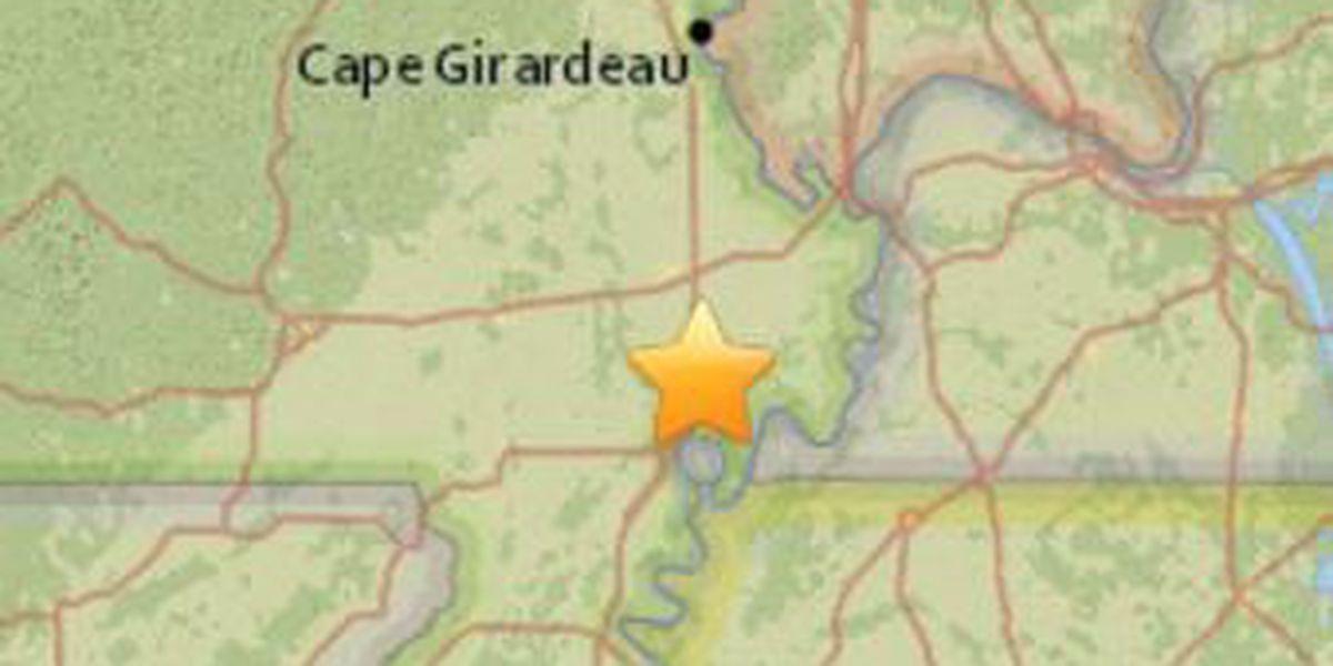 2.3 quake shakes parts of southeast Missouri