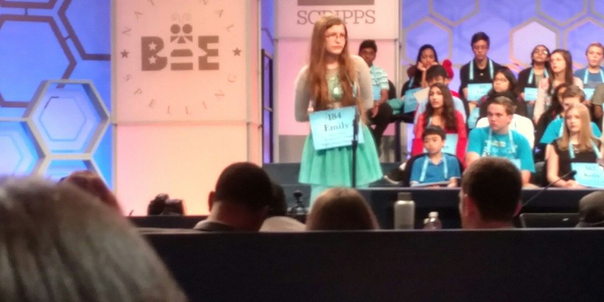 Cooter, MO girl makes it to the second round of the National Spelling Bee