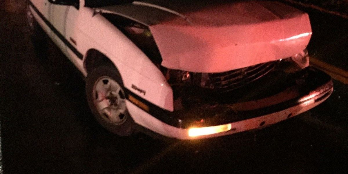 One sent to hospital in McCracken Co. collision