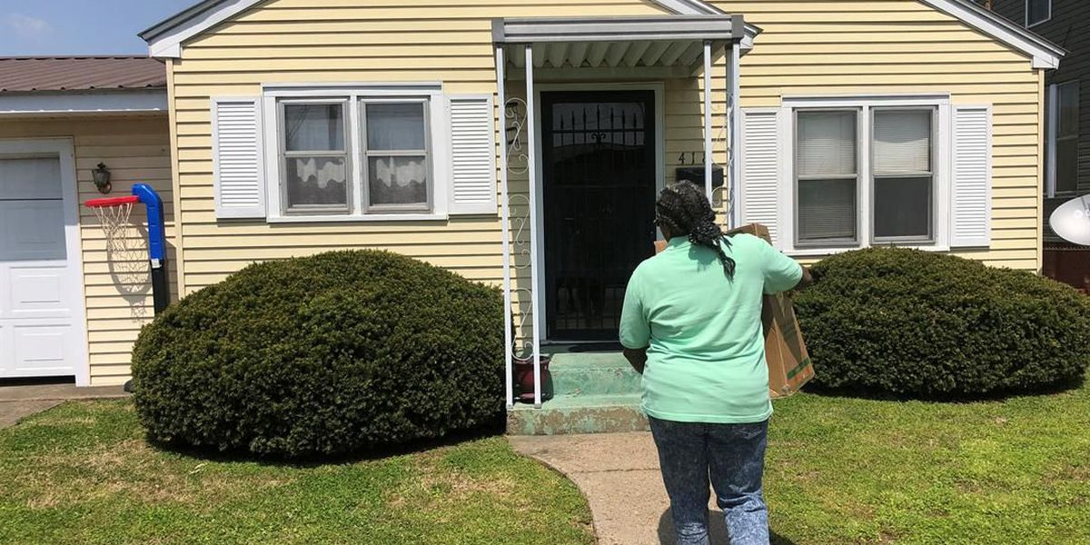 Cairo, IL public housing resident buys first home in full