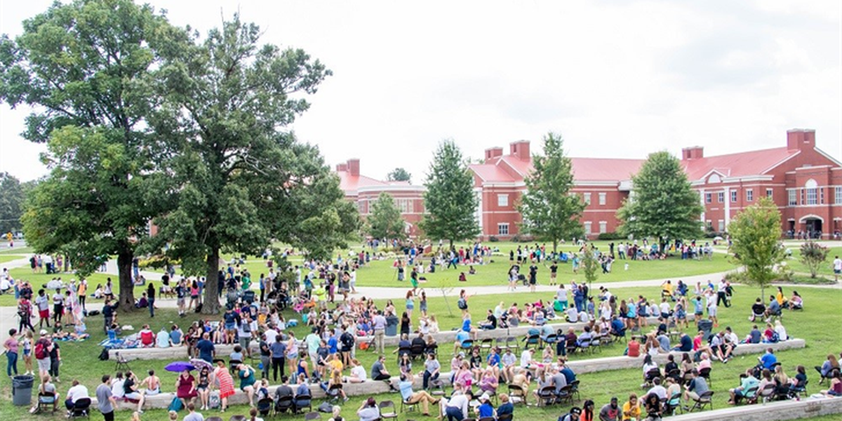 Murray State's solar eclipse party