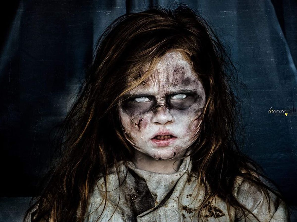 Heartland photographer gives spooky makeovers to children