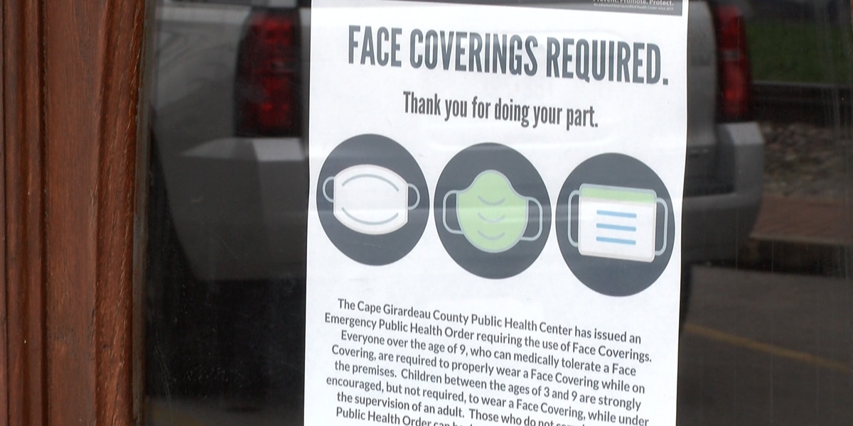 Cape Girardeau Co. Board of Heath to discuss mask mandate