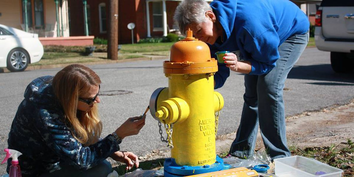 Paint-the-Plugs event in Paducah allows artists to express themselves