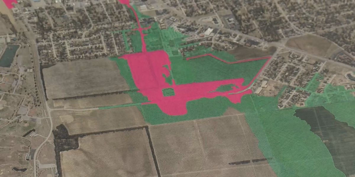 Sikeston has, new, improved flood plain Map