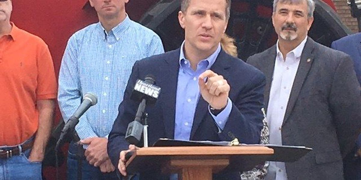 Missouri governor going to Miami resort owned by Trump