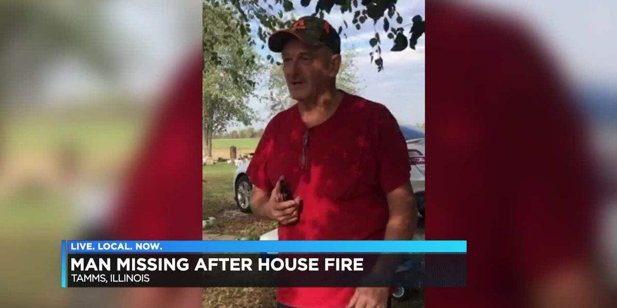 S. Illinois man missing following house fire