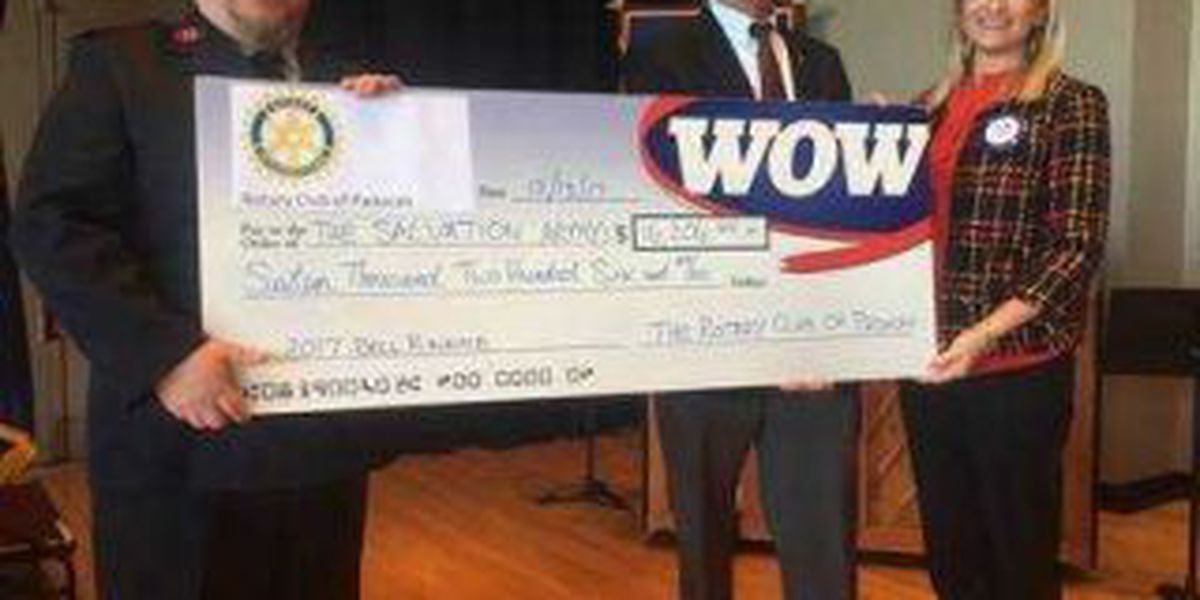 Donor doubles Rotary Club's donation
