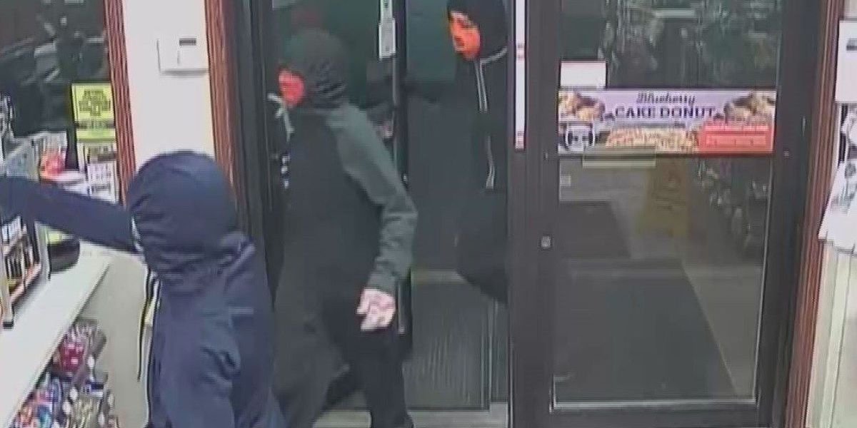 Sparta, IL police search for 3 men accused of armed robbery at a Casey's