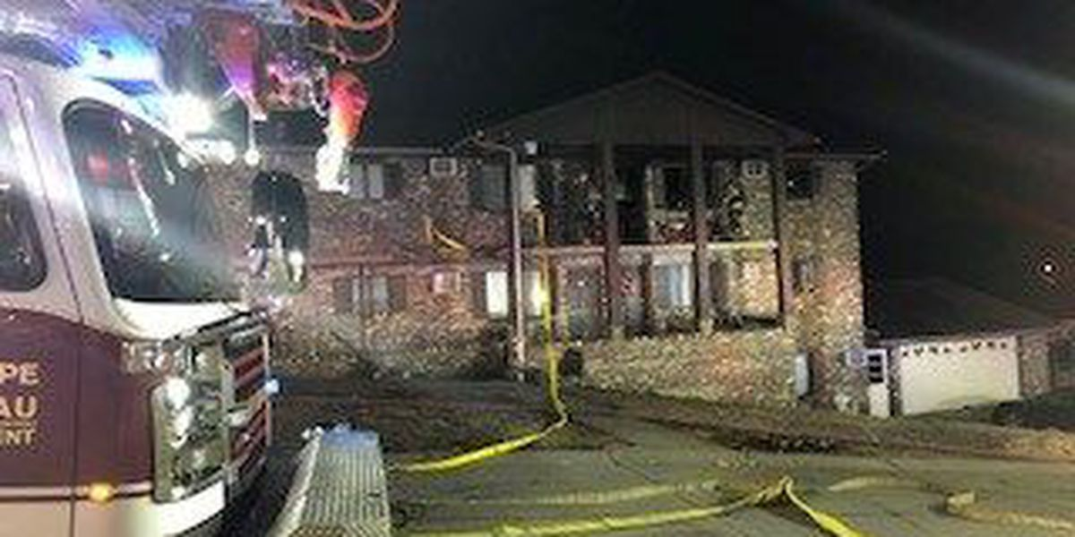 Crews called to apartment fire in Cape Girardeau, MO