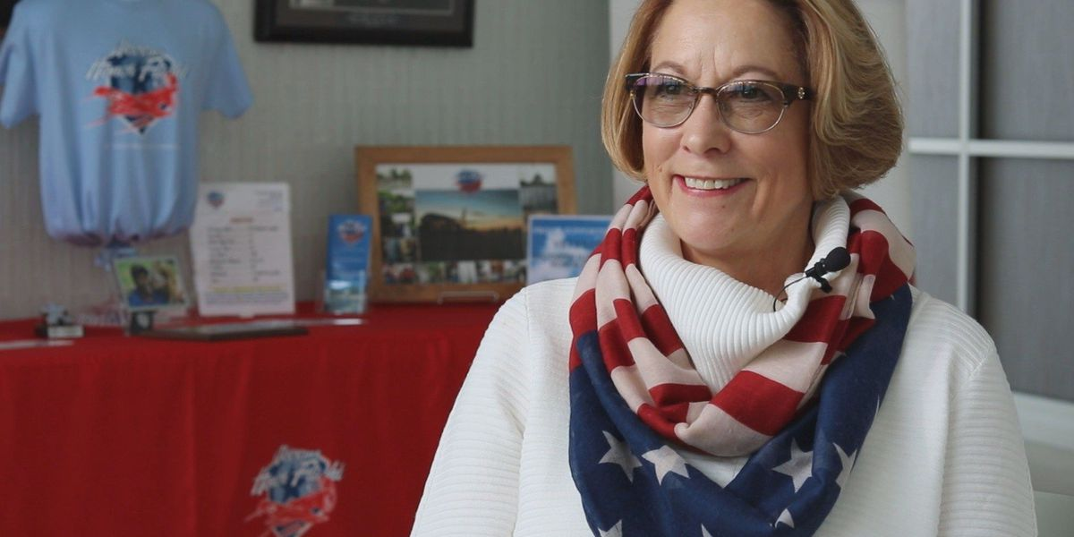 Retired Vice Admiral helps southern IL Honor Flight, shares her career story
