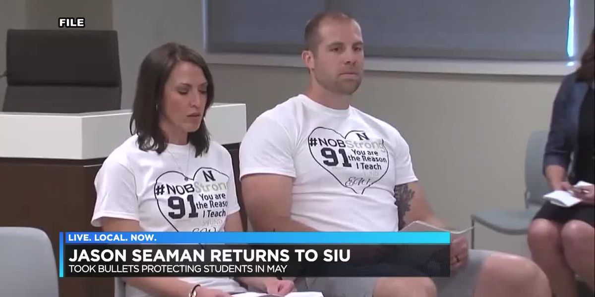 Jason Seaman returns to SIU