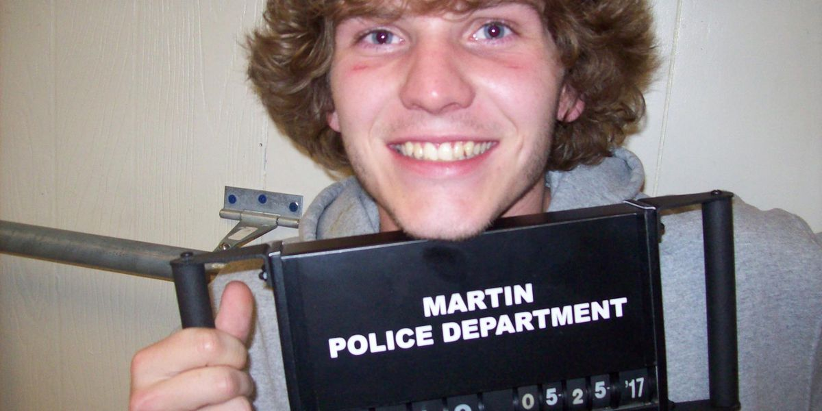 Martin, TN man charged for violation of drinking age law, burglary, theft