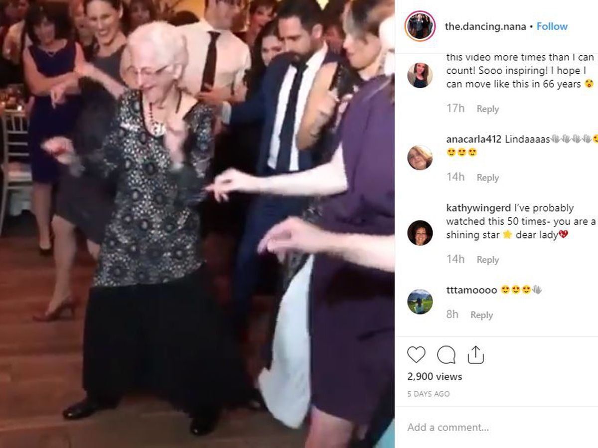 WATCH: 96-year-old dancing nana still has the moves