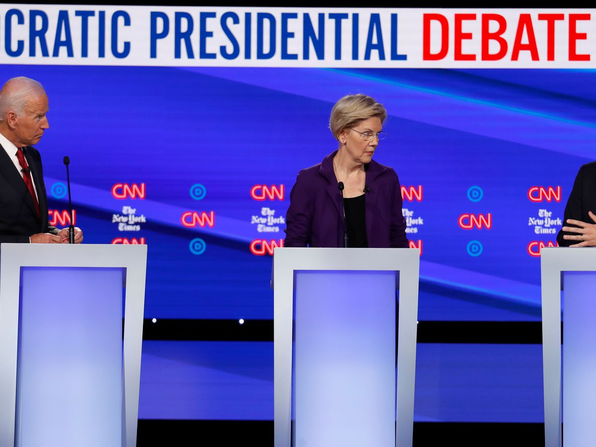 10 Democrats qualify for next week's presidential debate