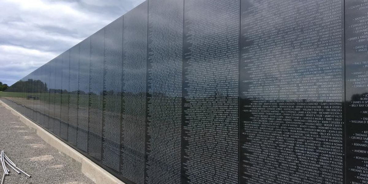 Phase 1 complete at Perryville Veteran's Memorial, more projects on the way