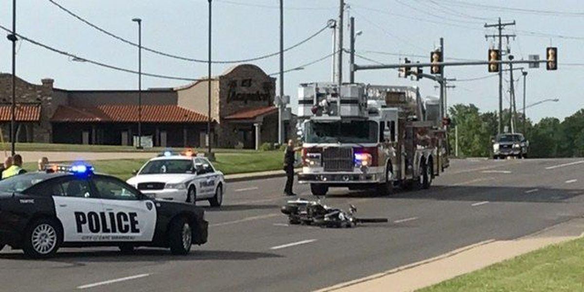 1 hurt in car vs. motorcycle crash in Cape Girardeau