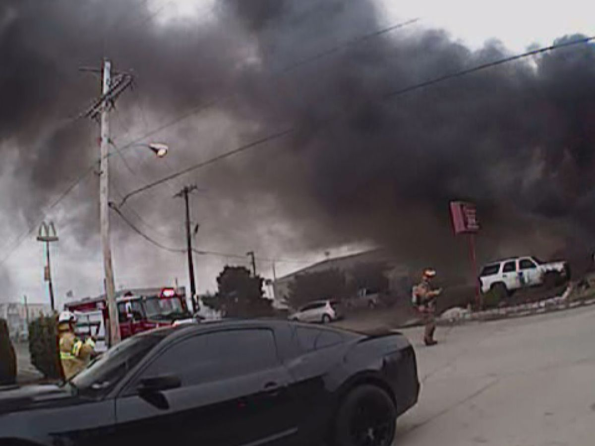 Body camera shows rescue effort at hotel fire in Miner, MO