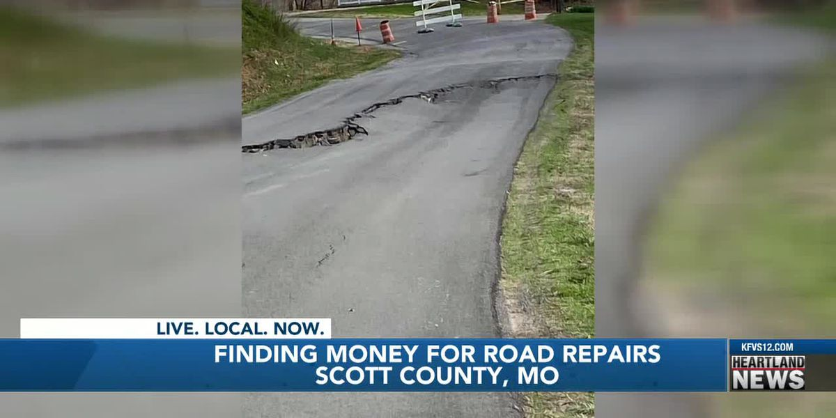 Weather-damaged County Road 250 causing issues in Scott County, Mo.