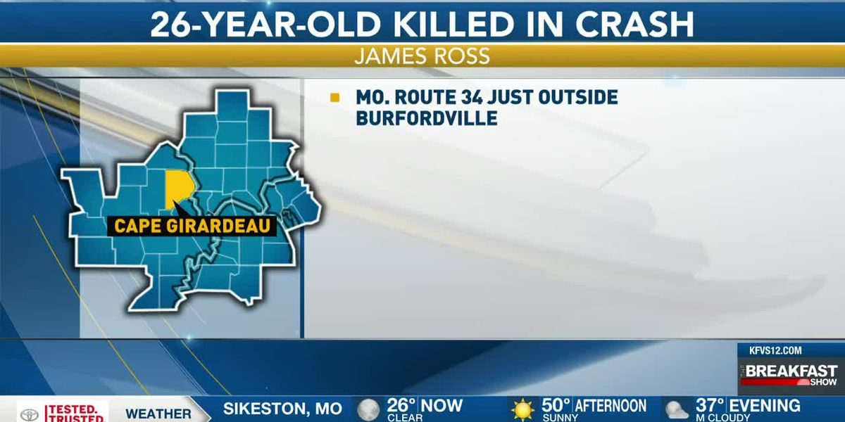 Cape Girardeau man killed in roll-over crash