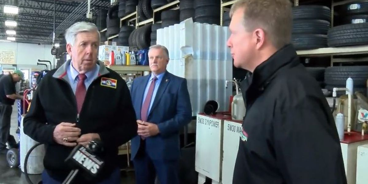 Gov. Parson discussed 'Show Me Strong Recovery' plan during 2 stops in Cape Girardeau