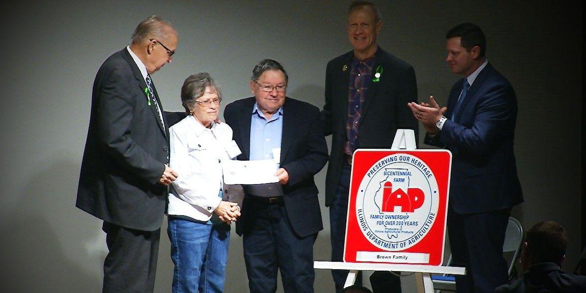 Jonesboro family gets IL Dept. of Ag. Bicentennial Farm honors