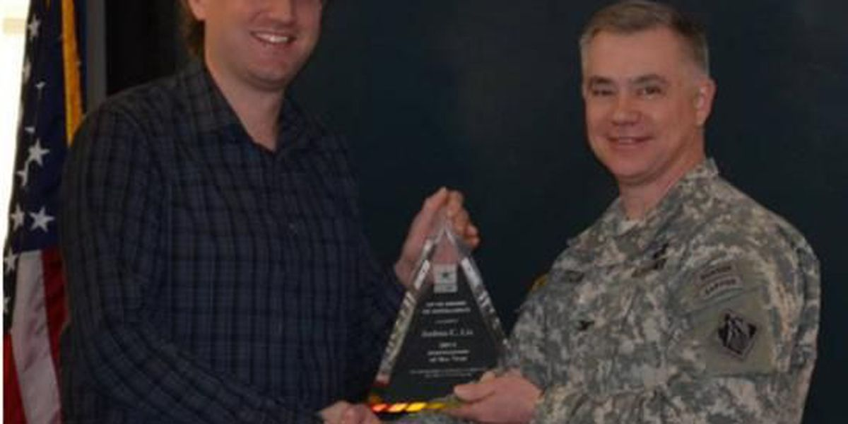 U.S. Army Corps of Engineers names Engineering Journeyman of the Year