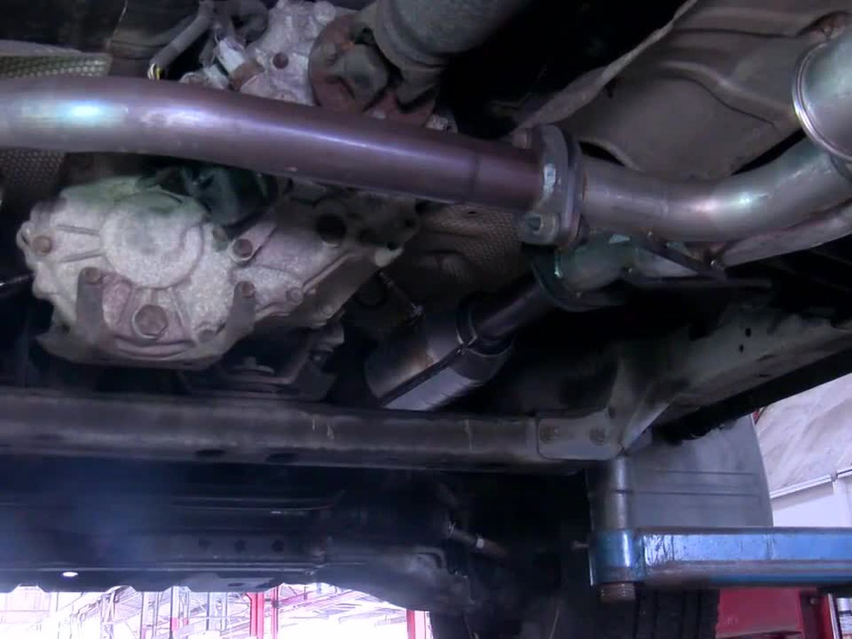 Catalytic converter thefts heat up following thaw