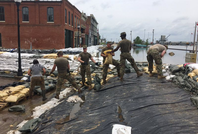 Gov  Parson to assess flooding in three MO cities