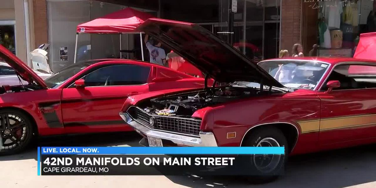 42nd Manifolds on Main Street held in Cape Girardeau