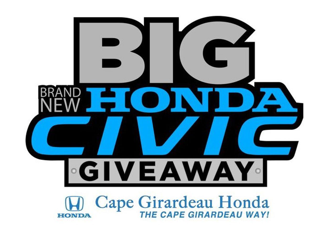 The Big Brand New Honda Civic Giveaway