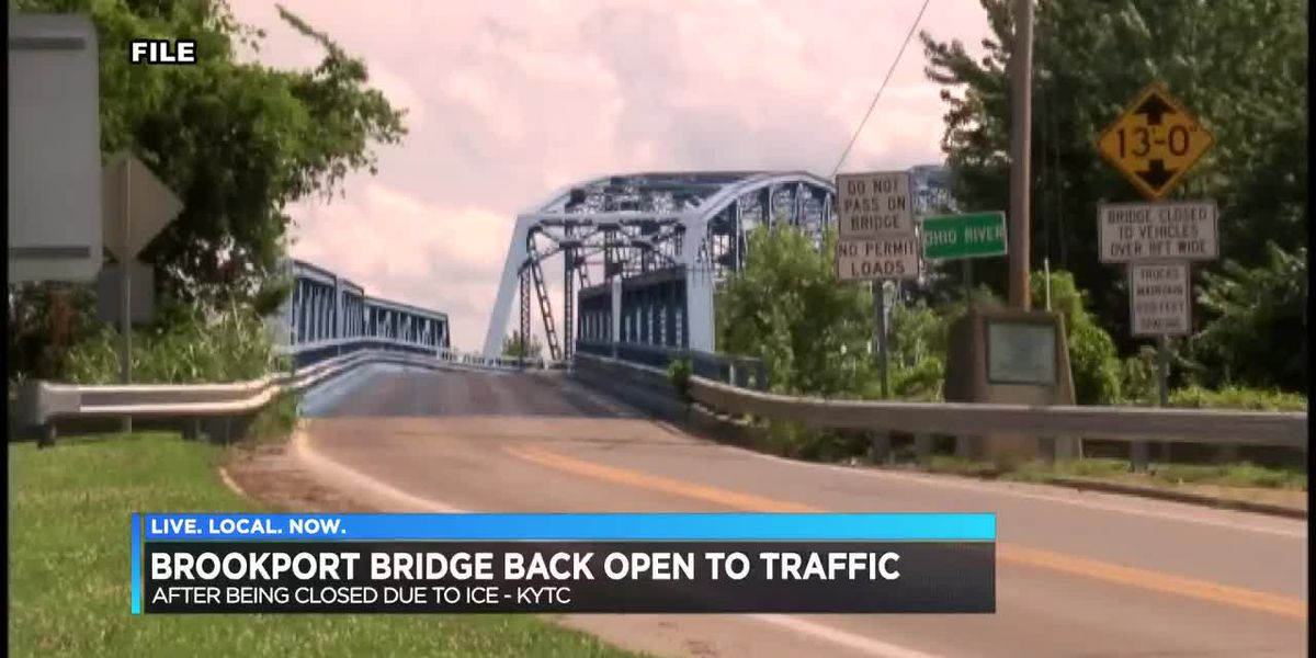 Brookport Bridge back open