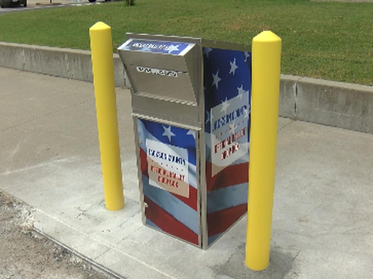 Jackson County, Ill. unveils ballot retrieval box