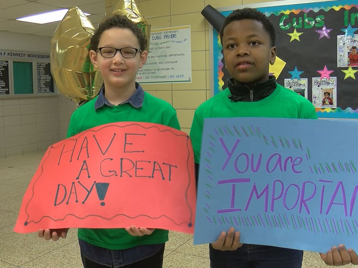 Kindness crew reverses frowns at JFK Montessori School