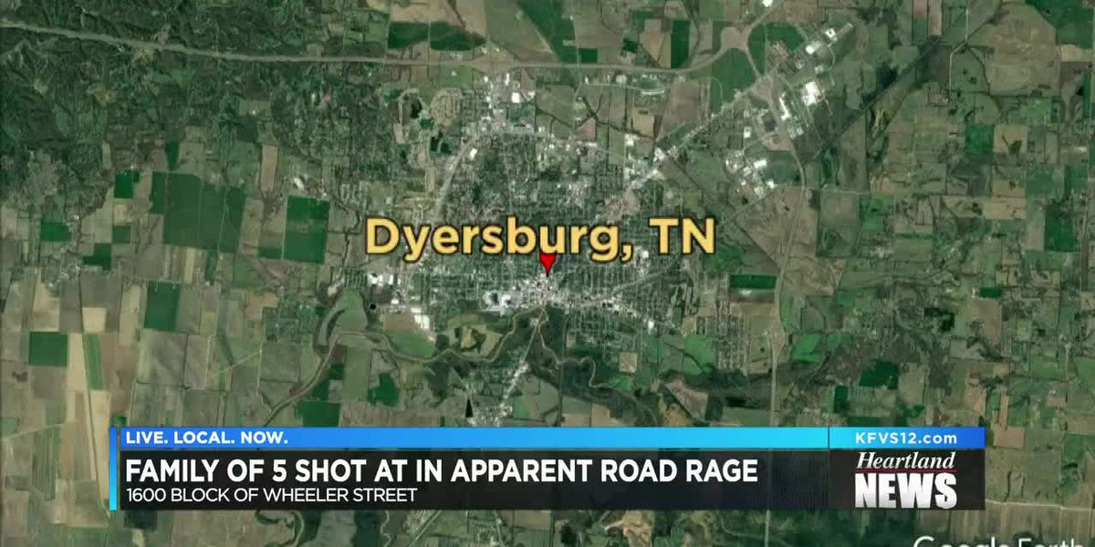 Family of 5 shot at in apparent road rage incident