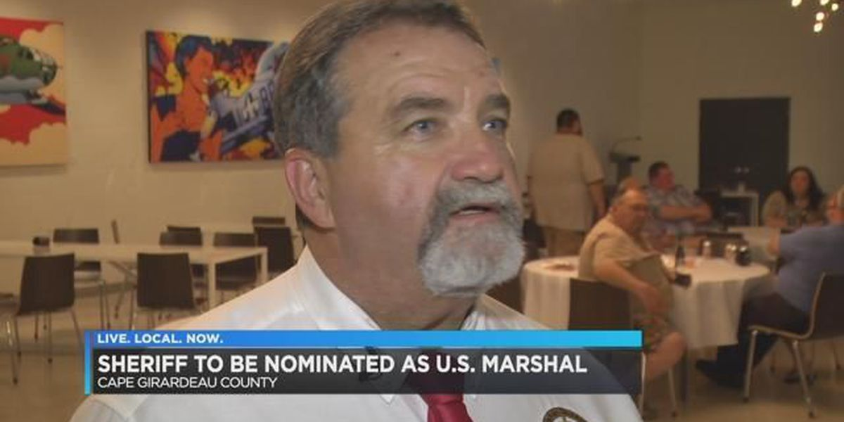 Pres. Trump intends to nominate Cape Girardeau County sheriff for Marshal's position