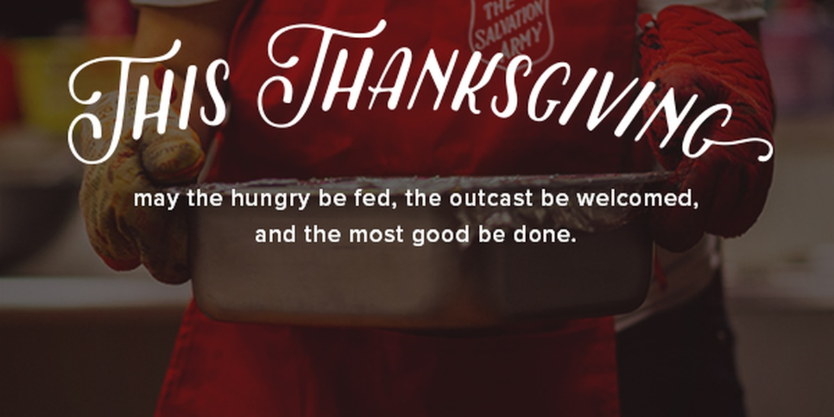 Preparations underway for The Salvation Army's Annual Thanksgiving meal