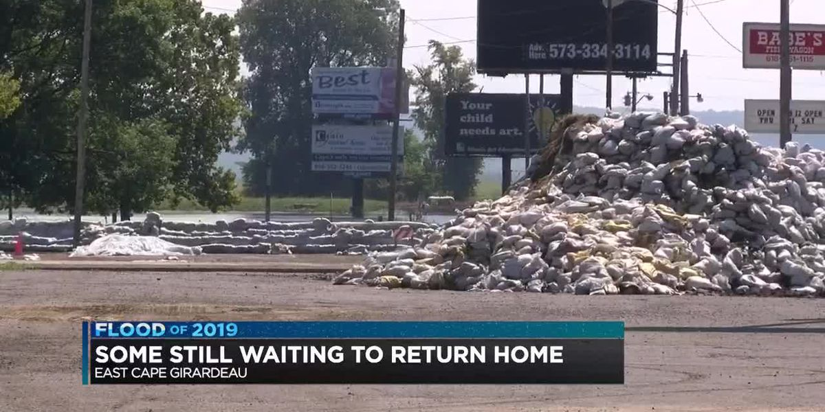 Flood victims still waiting to return home