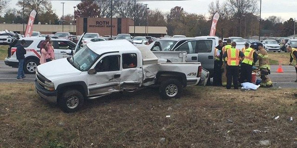 2 hurt in crash on S. Kingshighway in Cape Girardeau