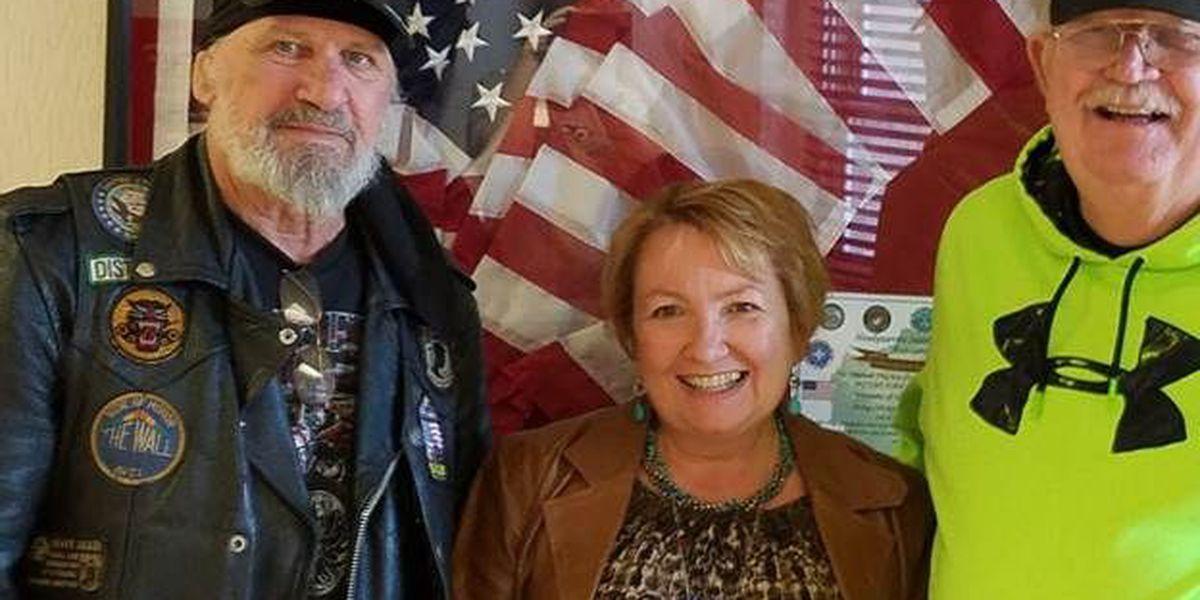 VFW riders donate to John J. Pershing VA Medical Center Veterans