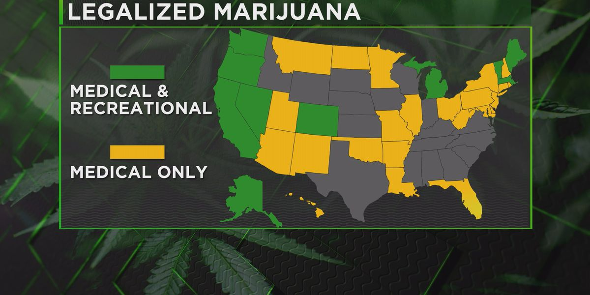 Federal law bans Missourians from using medical marijuana while owning a gun