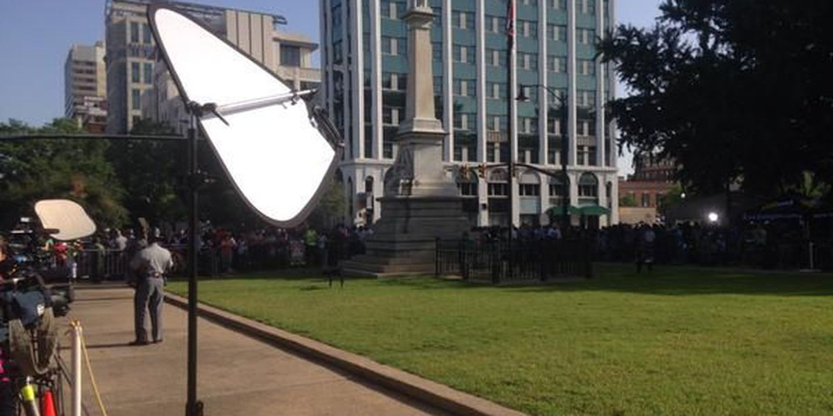 WATCH: The Confederate flag removed from the SC State House grounds