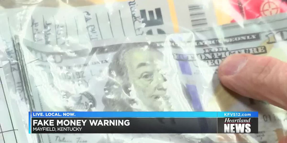 Kentucky State Police warning of counterfeit bills